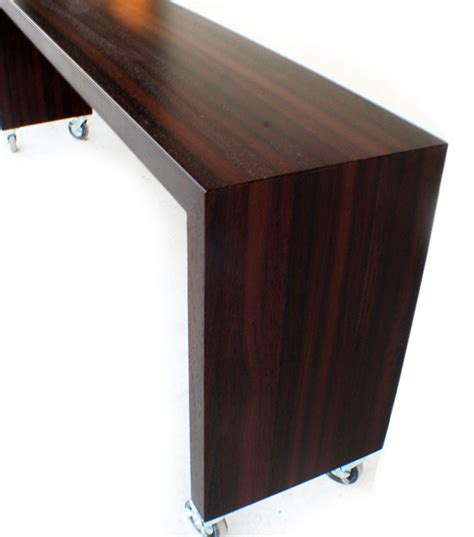 Countertop Table by Pastore Waterfall Wood Countertops And Butcher Block Tables