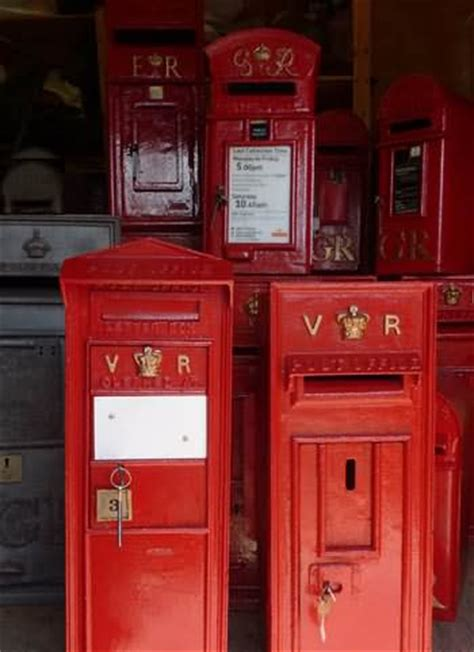 Post Office Mailboxes For Sale by Chiltern Antiques Buys Genuine Antique Royal Mail Post