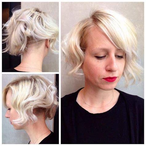 blonde bob undercut 41 best wedge cuts images on pinterest bob hairs bobs