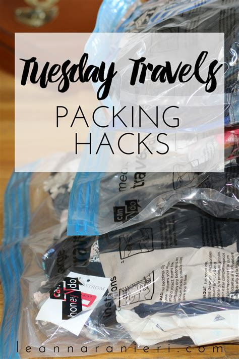 packing hacks tuesday travels packing hacks change with us