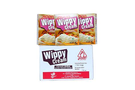 Haan Wippy Bubuk Instant Whip 1 jual haan wippy 12 x 400 gr termurah harga grosir tokowahab