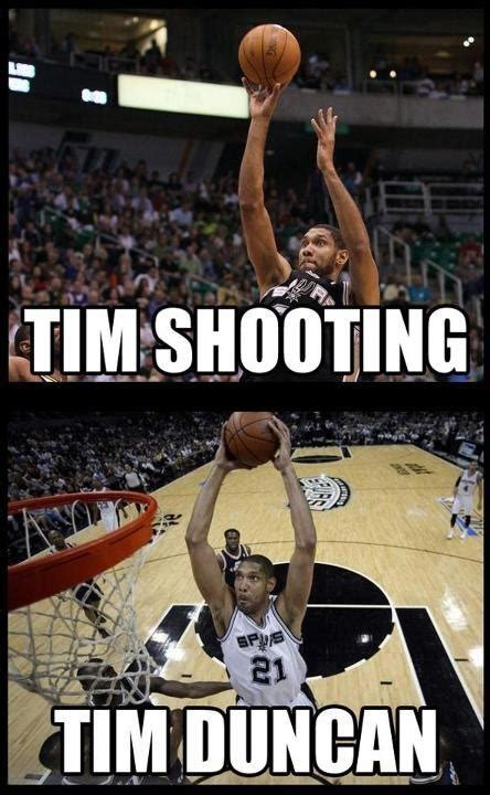 Tim Duncan Meme - tim shooting tim duncan spurs pinterest