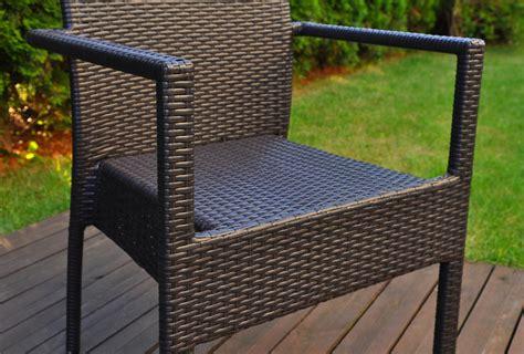 sedie giardino rattan sedia da giardino in polyrattan economica e robusta in