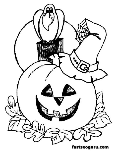 coloring pages free halloween printable halloween coloring page for kids printable printable