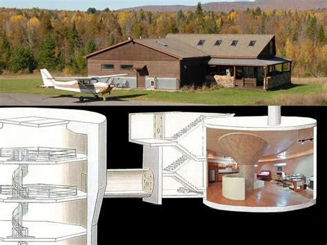 atlas f silo luxury home nuclear missile silo converted to luxury home