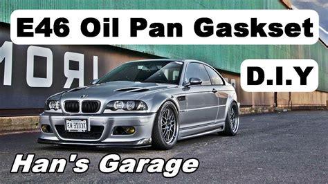 bmw diy bmw e46 pan gasket replacement diy