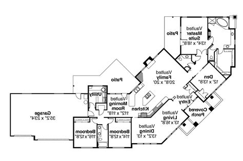 Corner House Plans by Contemporary House Plans Hawthorne 30 054 Associated