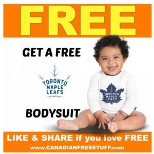 Carters Bodysuit Sweepstakes - carters osh kosh get your free toronto maple leafs bodysuit canadian freebies