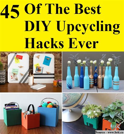 best hacks 45 of the best diy upcycling hacks home and tips
