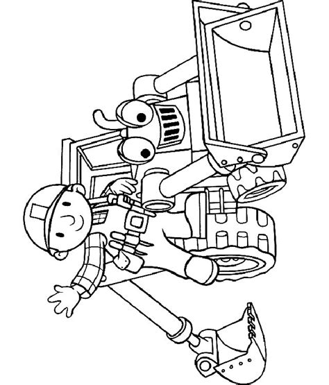 bob the builder coloring pages coloring home