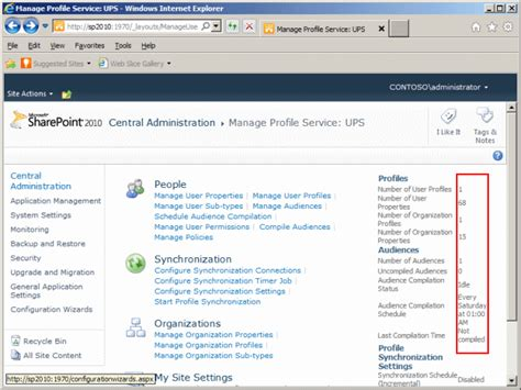 Centralized Section 8 Application by Aroh S Sharepoint Corner How To Configure User Profile