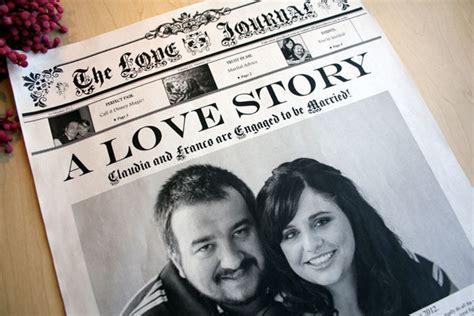 zeitung hochzeit newsfavor wedding newspapers custom wedding invitations