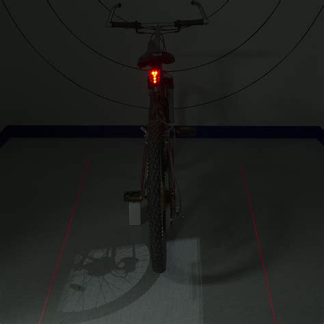 Bicycle Laser Strobe Tailight 5 Led Lu Led Sepeda Murah led bicycle light with laser light flash led