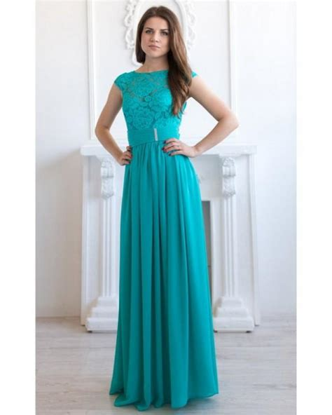turquoise color dress turquoise bridesmaid dress turquoise lace dress