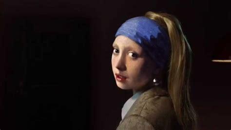 comprar cuadro la joven de la perla cuadros quot la joven de la perla quot youtube