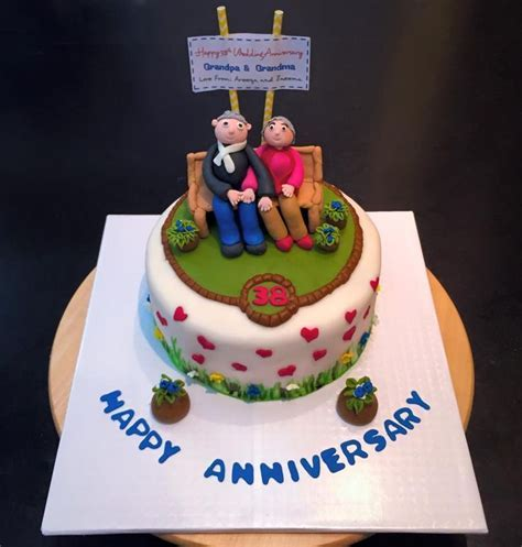 10 best images about Anniversary cake on Pinterest   Cake