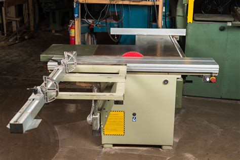 scmi sliding table saw shop services hatch workshop