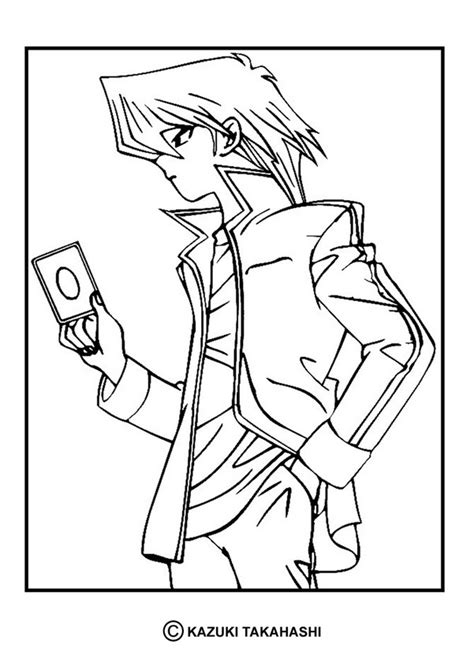 print coloring pages yugioh yu gi oh 5 coloring pages hellokids