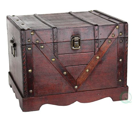 wooden trunk trunks chests on pinterest antique trunks steamer