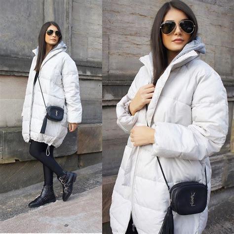 blogger ysl fashionbymnp h m over sized puffer jacket saint