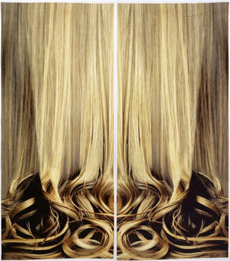 hair curtains blond curtaincooper hewitt smithsonian design museum
