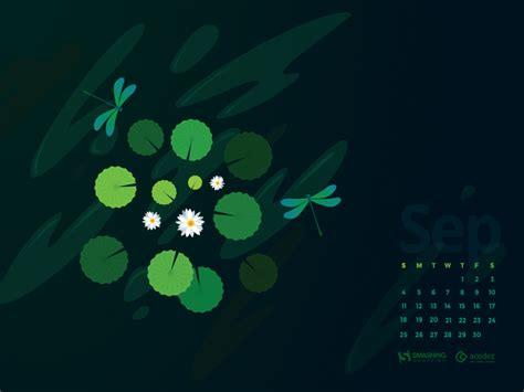 Calendar September 2017 Wallpaper Desktop Wallpaper Calendars September 2016 Smashing