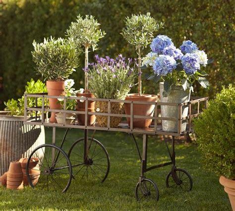 adornos jardin  ideas originales en  imagenes