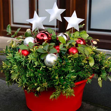 weihnachtsdeko garten kaufen gartenstecker weihnachts 3er set kaufen bei
