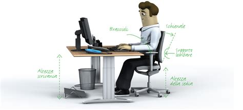 altezza scrivania ufficio sicurezza negli uffici la disposizione posto di