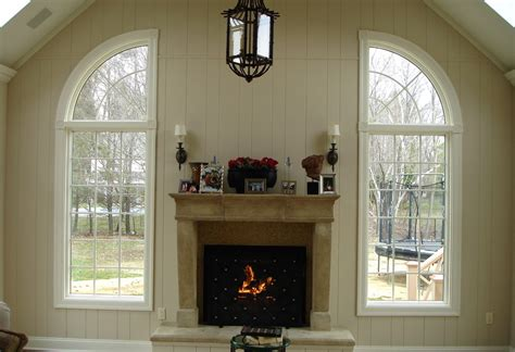 gas fireplace vs wood burning fireplace design