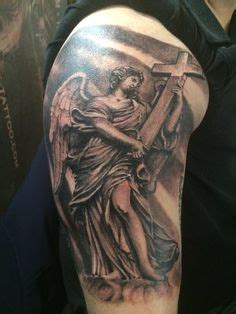 angel king tattoo clouds doves tattoos google search religiosas
