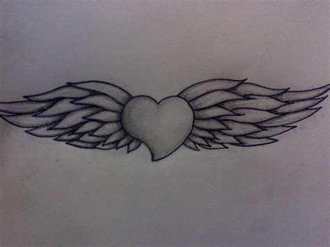 heart wings tattoo designs for tattoos designs