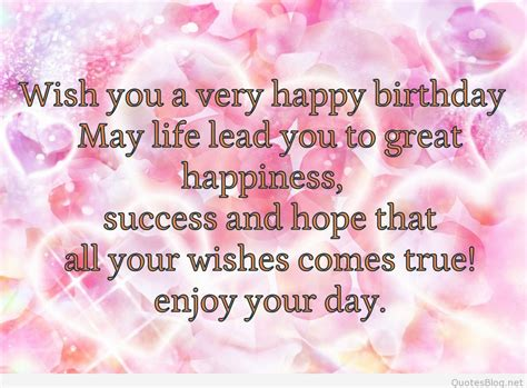 Happy Birthday Wish For Birthday Messages