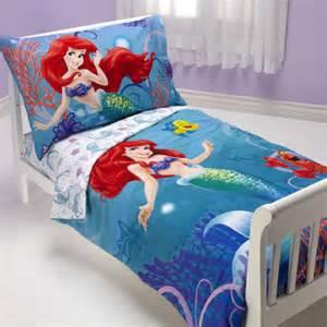 Toddler Bed Disney Sheets Ariel Princess 4 Toddler Bedding Set Wayfair