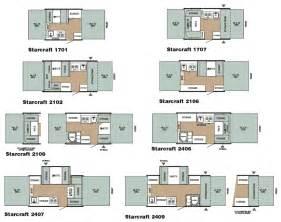 Starcraft Rv Floor Plans Starcraft Folding Camping Trailer Floorplans Large Picture