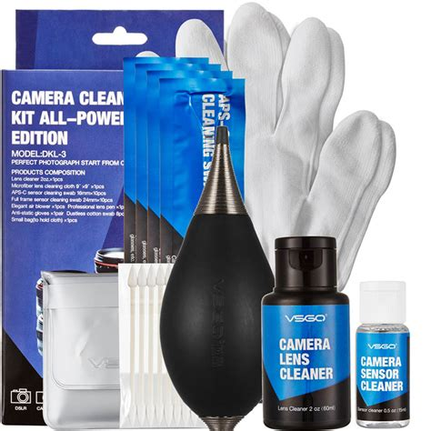 Cleaning Kit Canon By Jasuke Store aliexpress buy free shipping vsgo 9 in 1 lens