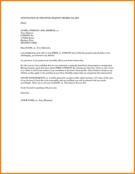 45 salary negotiation letter sample suitable scholarschair for
