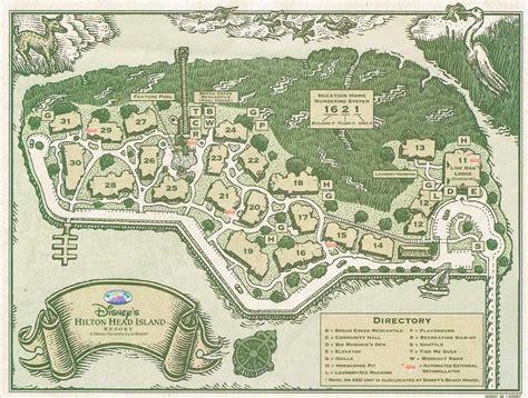 island resort map dvc point for disney island resort villas