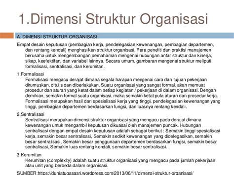 soal desain dan struktur organisasi desain dan struktur organisasi