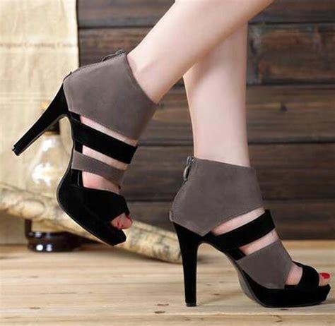 High Heel Afr2301 New Arrival new arrival summer high heels fashion color block open toe sandals high heeled