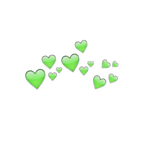 imagenes png sin fondo tumblr heart tumblr heartcrown green hearts head