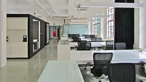 layout open office designing an incubator in shanghai