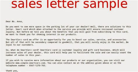 Customer Loyalty Letter Sales Letter Sle Sles Business Letters