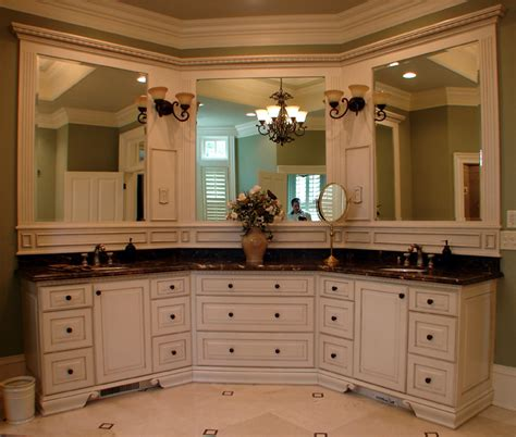 Master Bathroom Vanities Ideas by Or Single Mirror In Master Bath Big Mirror