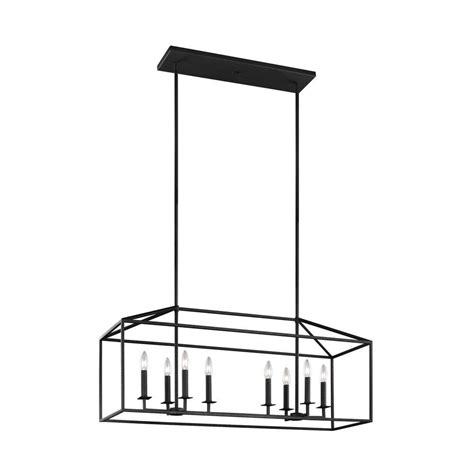 home depot kitchen lights sea gull lighting perryton 8 light blacksmith kitchen