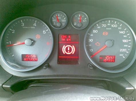 Audi A3 Warnsymbole by 8l Ausrufezeichen Blinkt Audi A3 Forum F 252 R