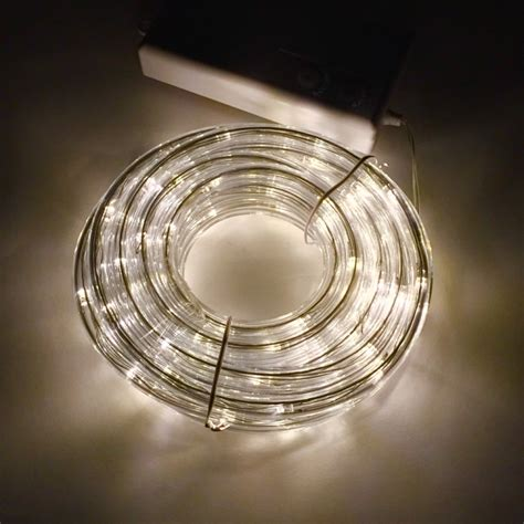 battery operated rope lights wholesale tube lights warm white