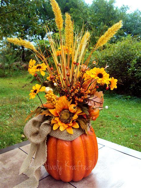 fall flower arrangements for tables autumn fall thanksgiving pumpkin centerpiece table flower