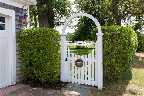 Arbors For Backyards Rounded Arbor Cape Cod Fence Company
