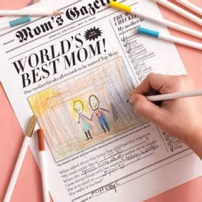 Handmade Paper Articles - s day newspaper card mothers day cards tip